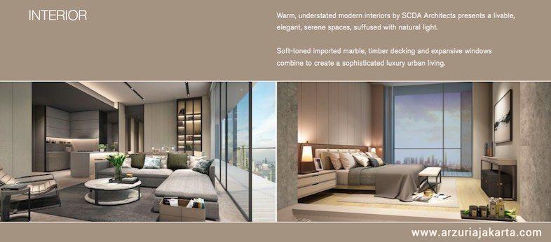 Design Apartment Arzuria Tendean Jakarta Selatan Apartemenarzuria