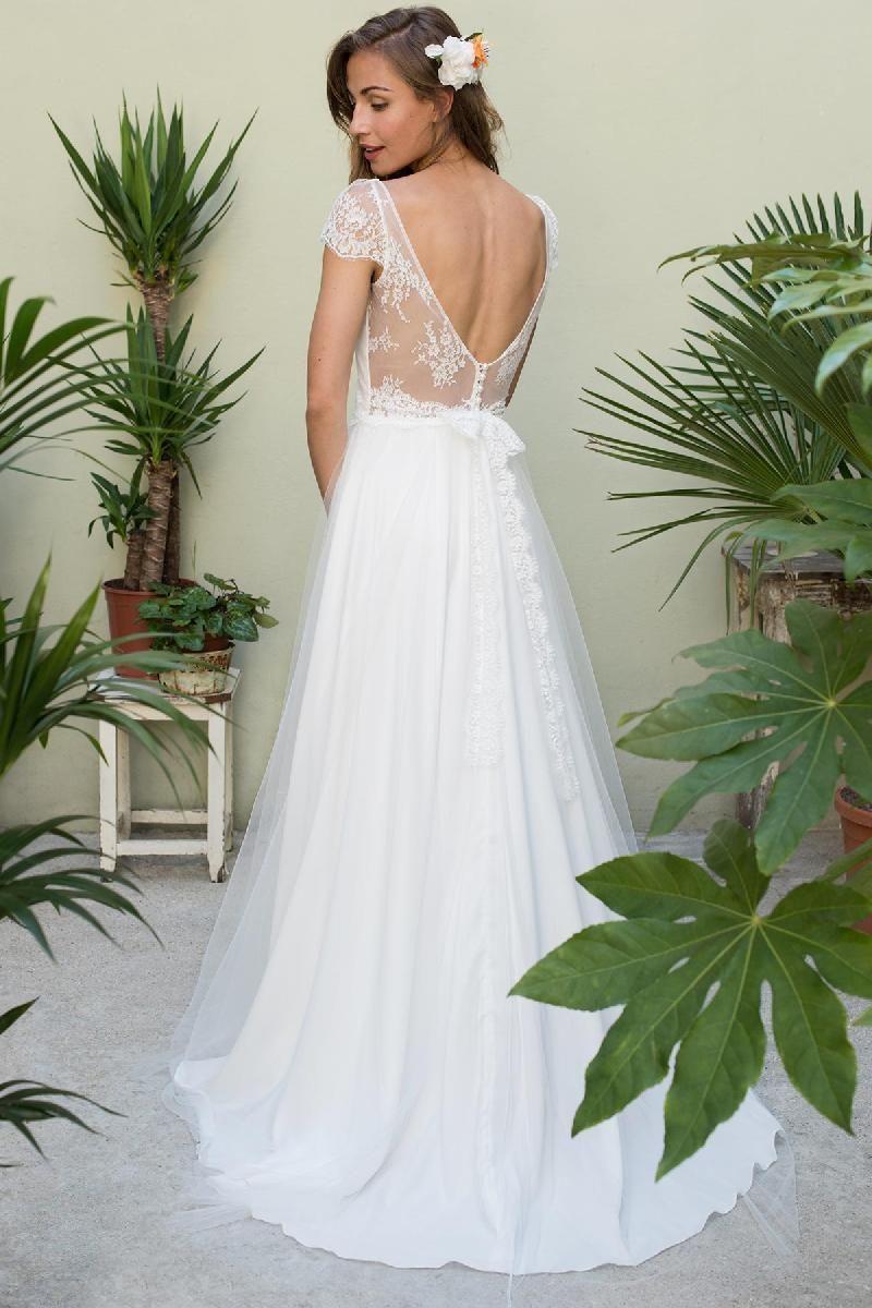 Mariage - Robes Marie Laporte : Robe Djerba