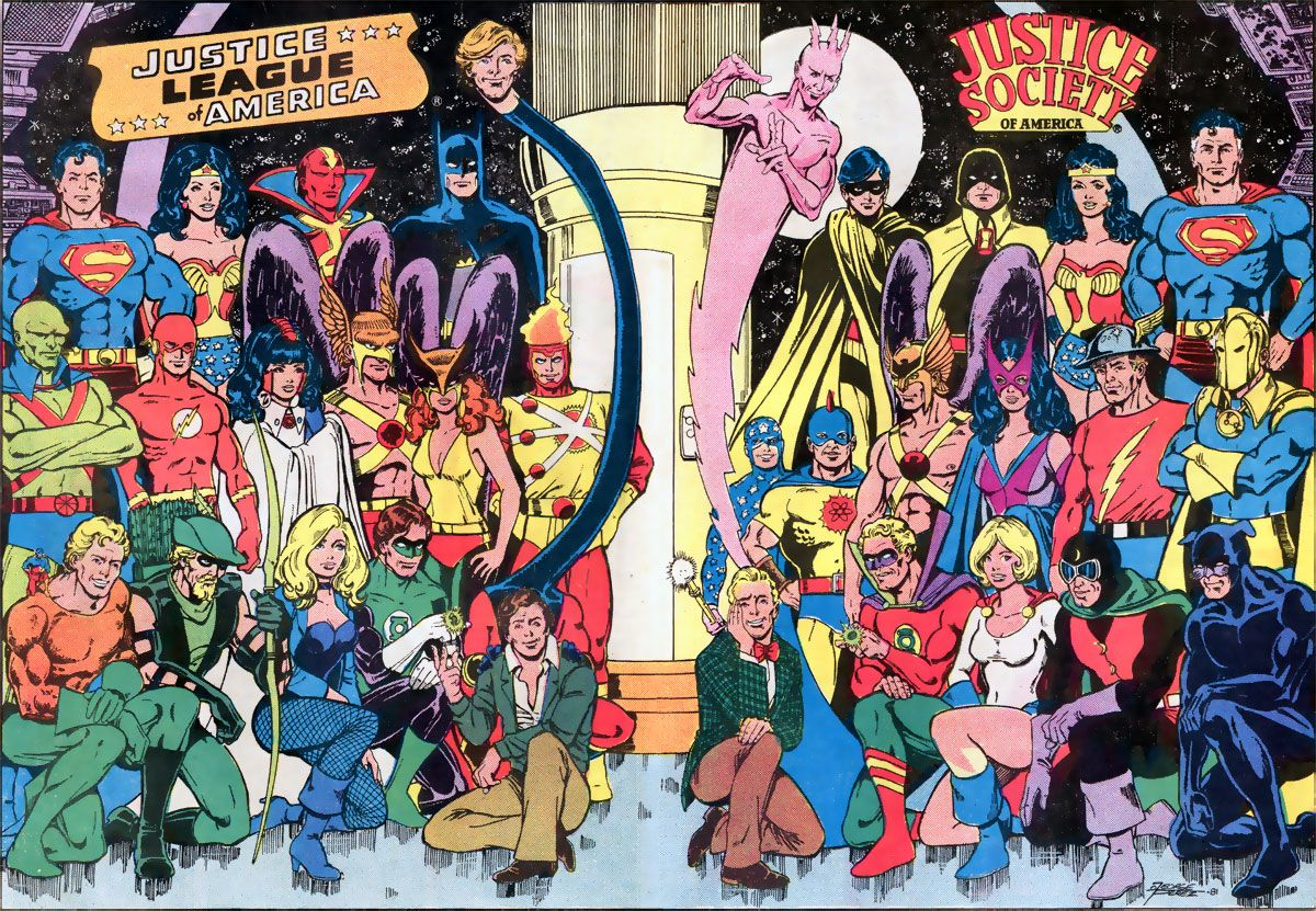 Justice Society Of America Wallpaper League America And Justice