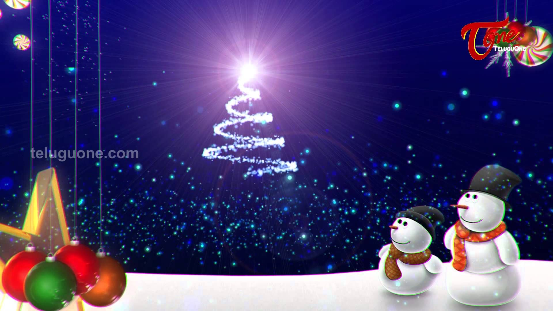 Happy Christmas Best Animated Greeting Christmas Video Cards