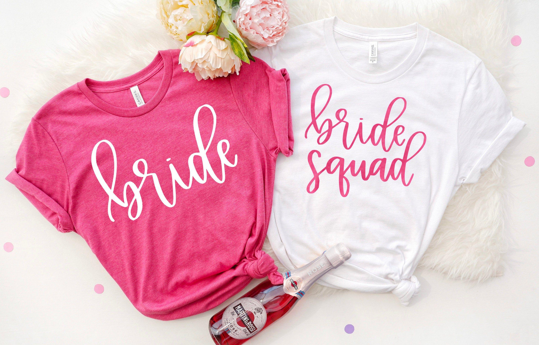 Bridesmaid Proposal Bridal Party Shirts I Do Crew Bachelorette Party Shirt The Party Shirts Wife of the Party Bride Shirt