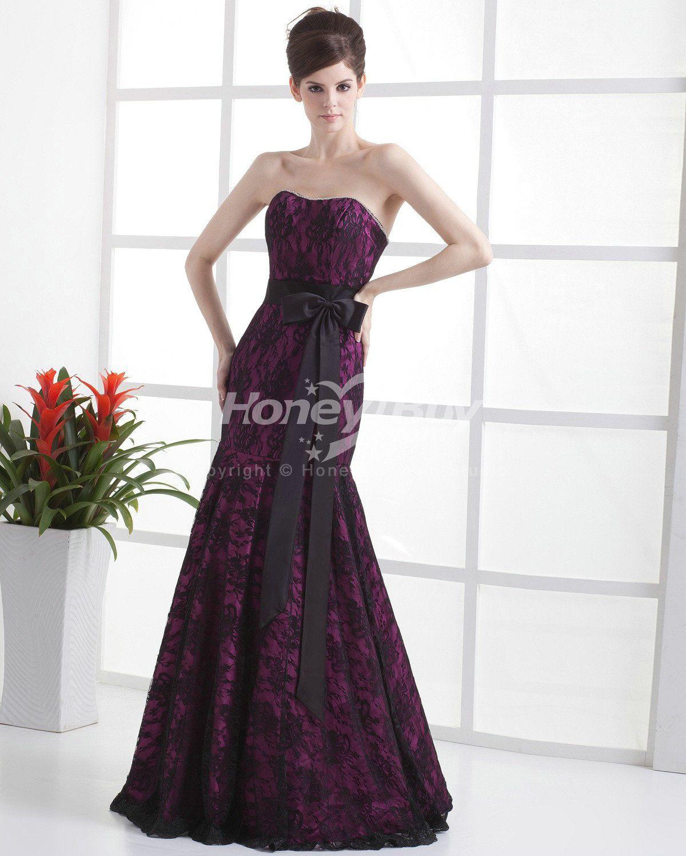 Sweetheart Lace Mermaid Purple Wedding Dress Sashs Bridal Gowns Cheap Wedding Dress Wedding Dresses Lace [ 1500 x 1200 Pixel ]
