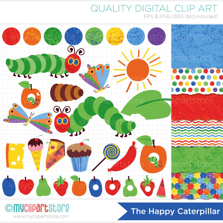 hungry caterpillar butterfly clipart one pinterest hungry rh pinterest com Star Clip Art Hollywood Clip Art