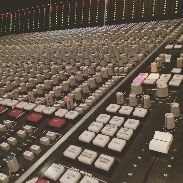 Another late night mix session Day 3 of mixing. #MainStreetStudios #RecordingStudio #SoundBetter
