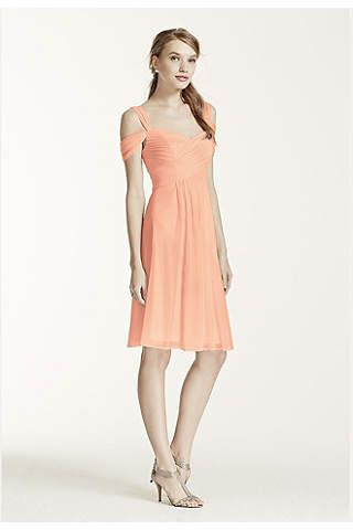 369548f63a7 View Formal Off the Shoulder Not Applicable Bridesmaid Dress at David s  Bridal
