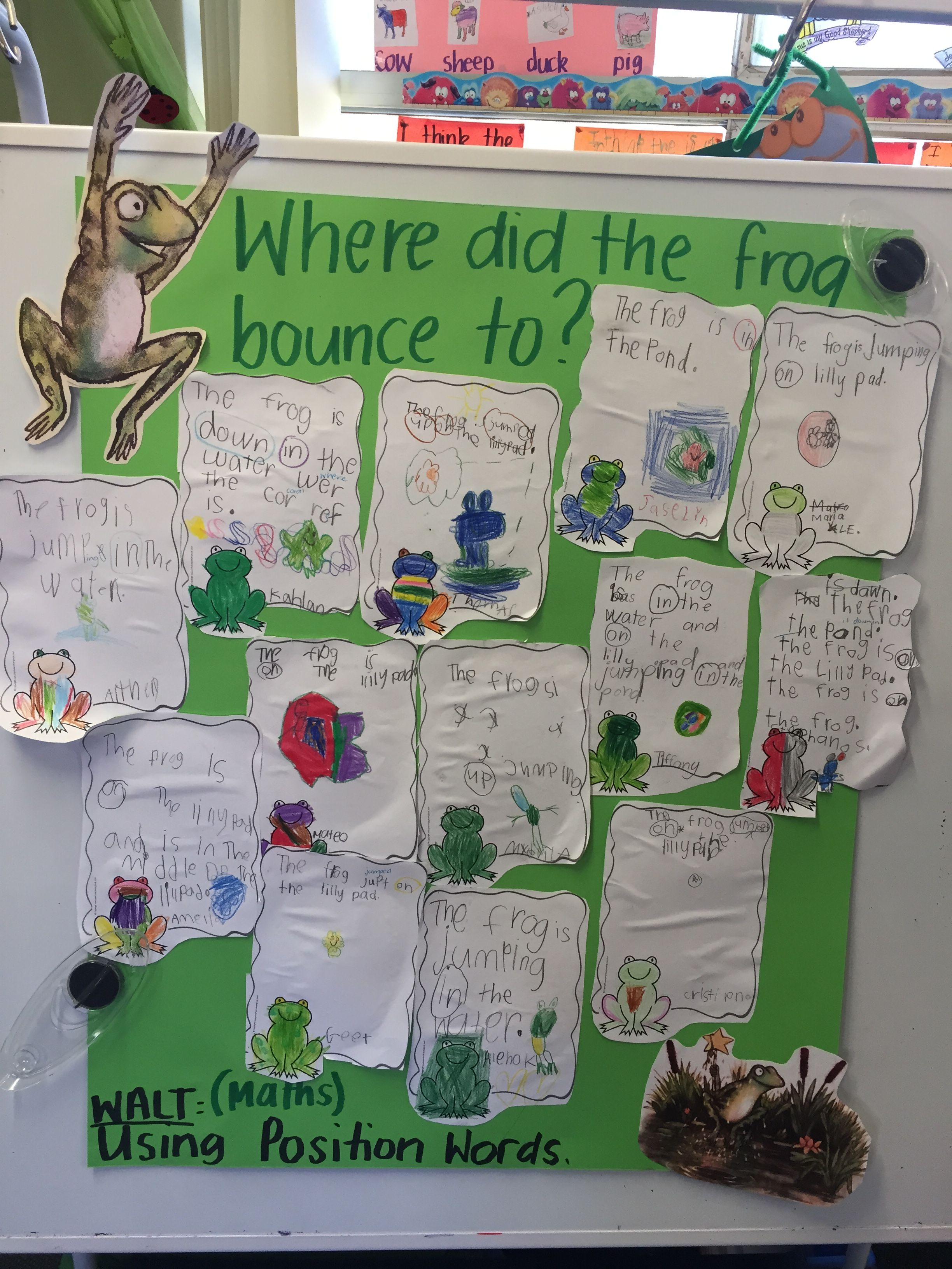 Julia Donaldson Room On The Broom Kindergarten Maths Lesson On Position Words Where Did The