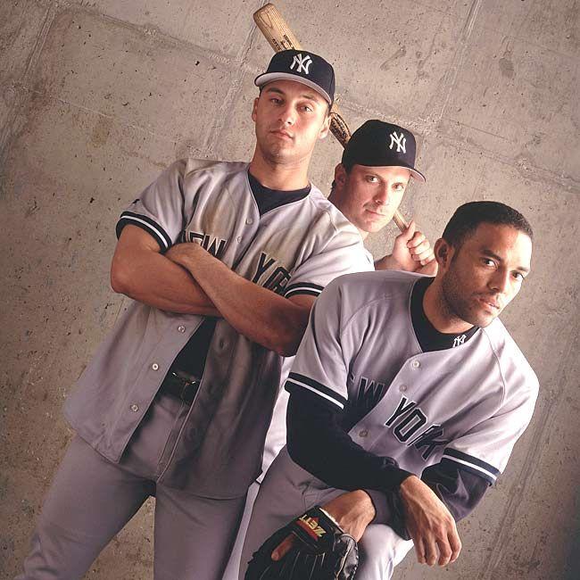 Derek Jeter, Tino Martinez, Mariano Rivera (1998)