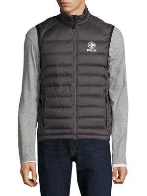 POLO RALPH LAUREN Explorer Quilted Vest. #poloralphlauren #cloth #vest