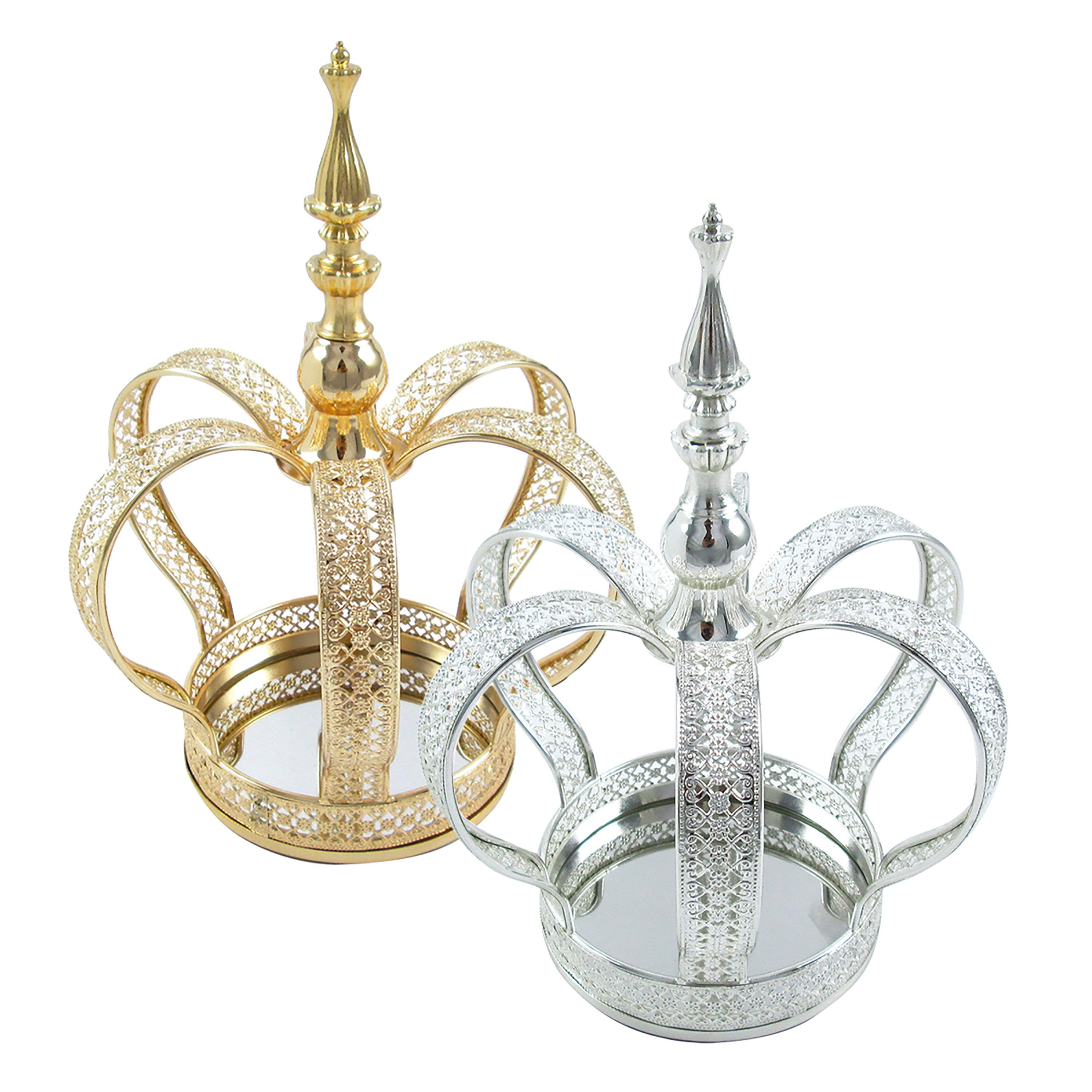 32 Decorative Crown Metal Crown Decor Gold Silver   Etsy in 32 ...