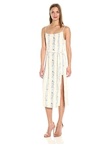 MINKPINK Women's Sunflower Stripe Belted Midi Dress, Mult... https://www.amazon.com/dp/B06XK1S9RT/ref=cm_sw_r_pi_dp_x_FlVbzbVNJQ7JW