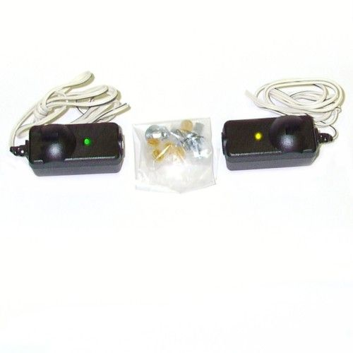 Chamberlain Garage Door Lights Stay On: Liftmaster Infrared Safety Beam Sensors New Style 41A5034