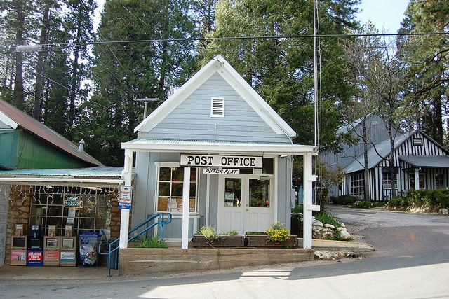 Pin On Small Town Post Offices And