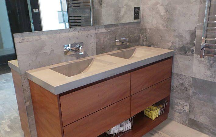 Makers Lane Concrete Vanity Top Custom Made Bespoke In Australia