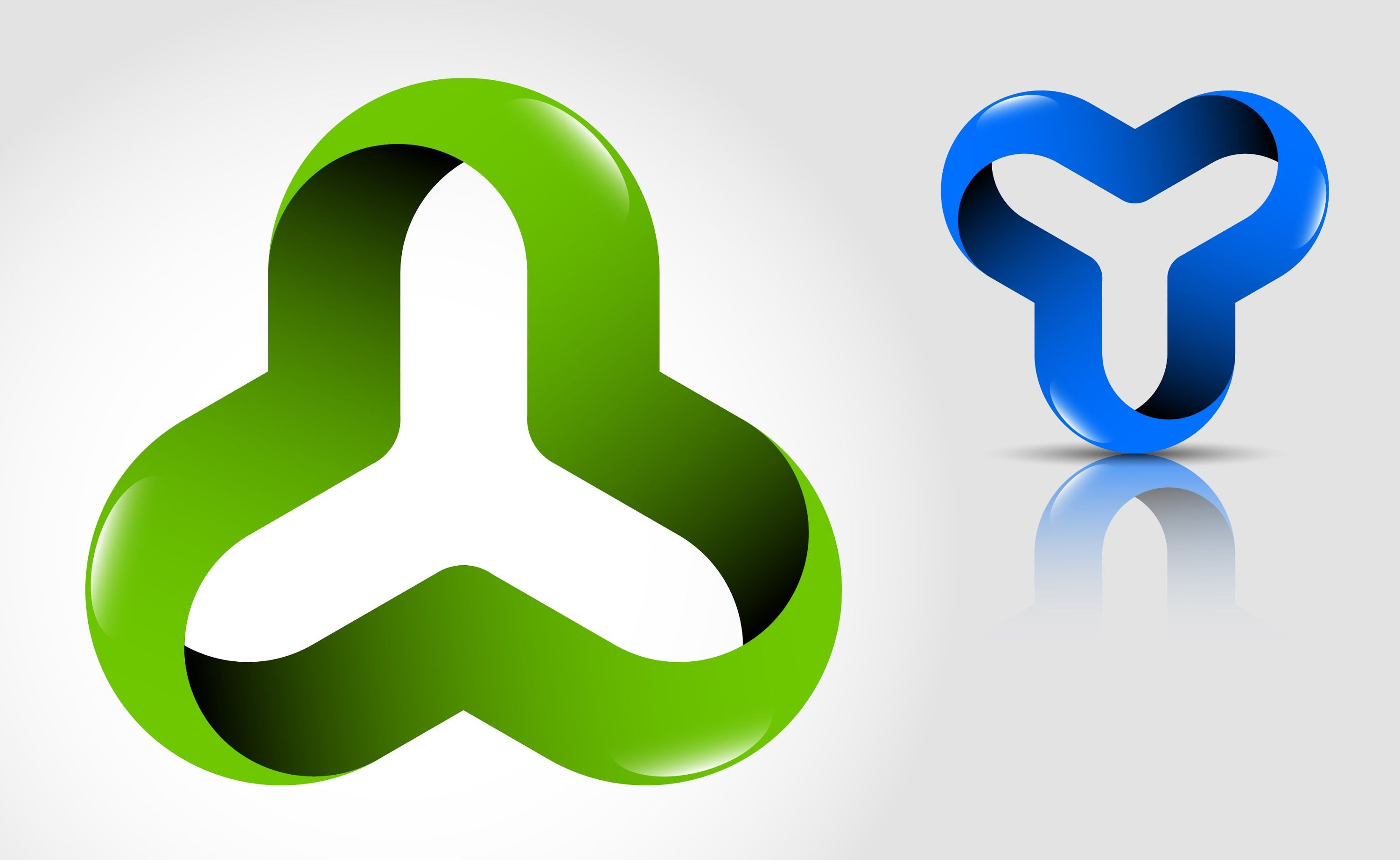 How to create 3D logo design (optical illusion) in Adobe