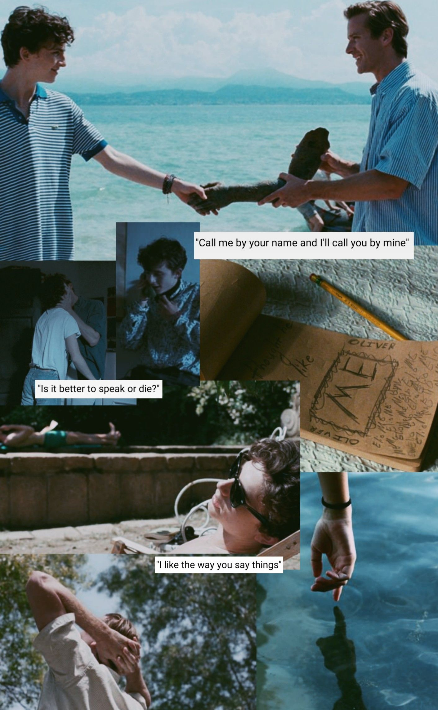 Call Me By Your Name Call Me Your Name Wallpaper Name Wallpaper
