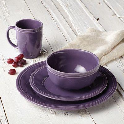 Rachael Ray Cucina 16 Piece Dinnerware Set Color: