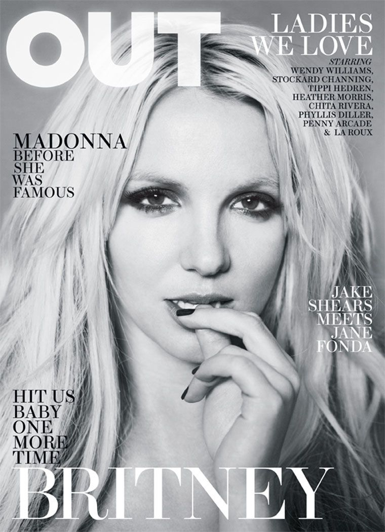 Britney in Out Magazine | April 2011 (Ruven Afanador)