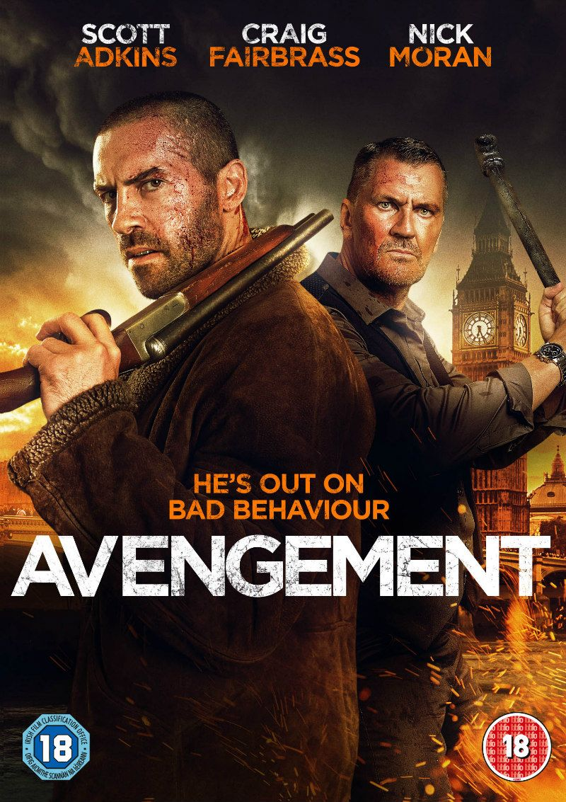 A Defining Work Of Scott Adkins Career Avengement Is On Vod Now And Dvd Blu Ray July 1st Read Our Review Http Www Scott Adkins Full Movies Hd Movies