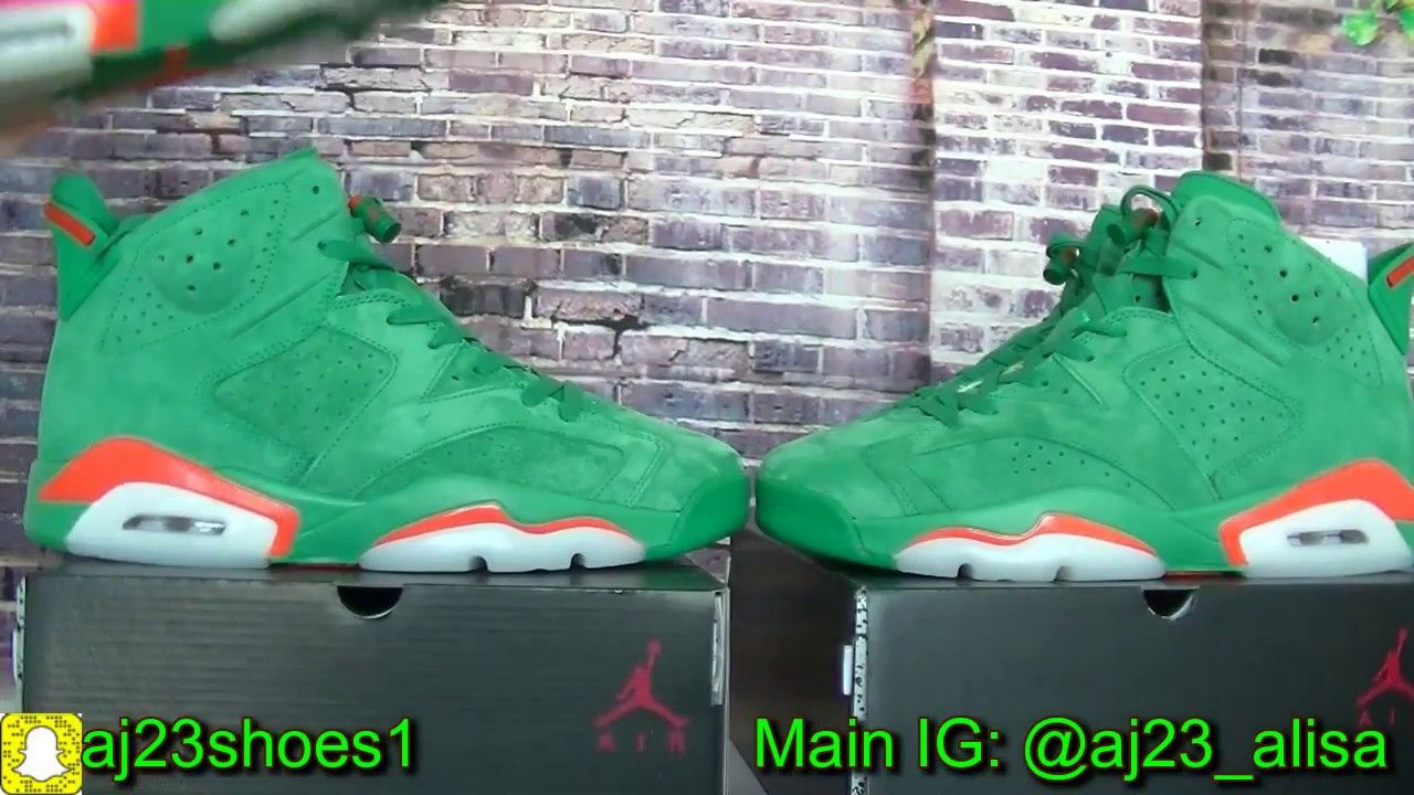 new concept ff425 e92c2 EARLY LOOK  JORDAN 6 GATORADE GREEN !!! MUST COP!from aj23shoes.