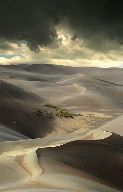 L'infinité du désert, semblable à celle de notre imagination.
