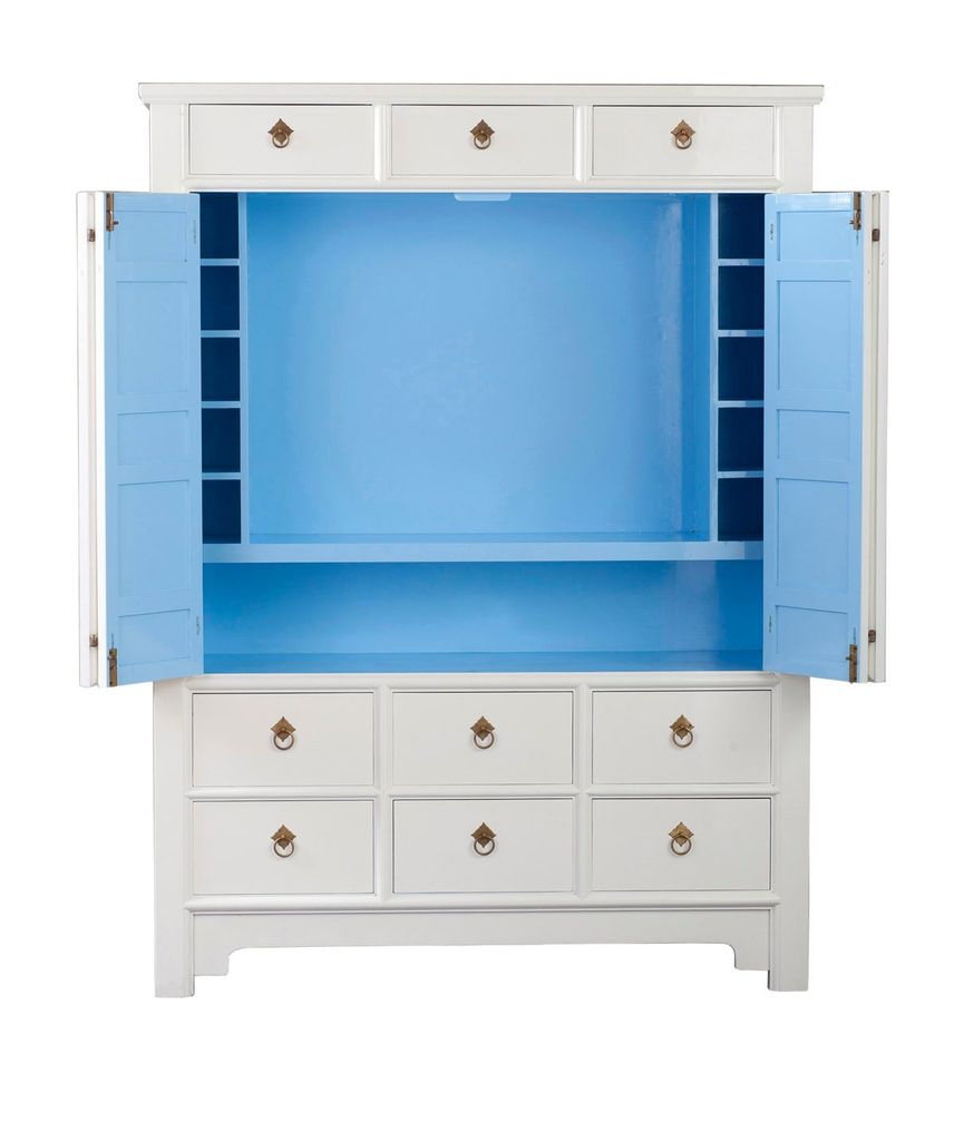 Lilly Pulitzer cabinet — serious DIY inspiration!