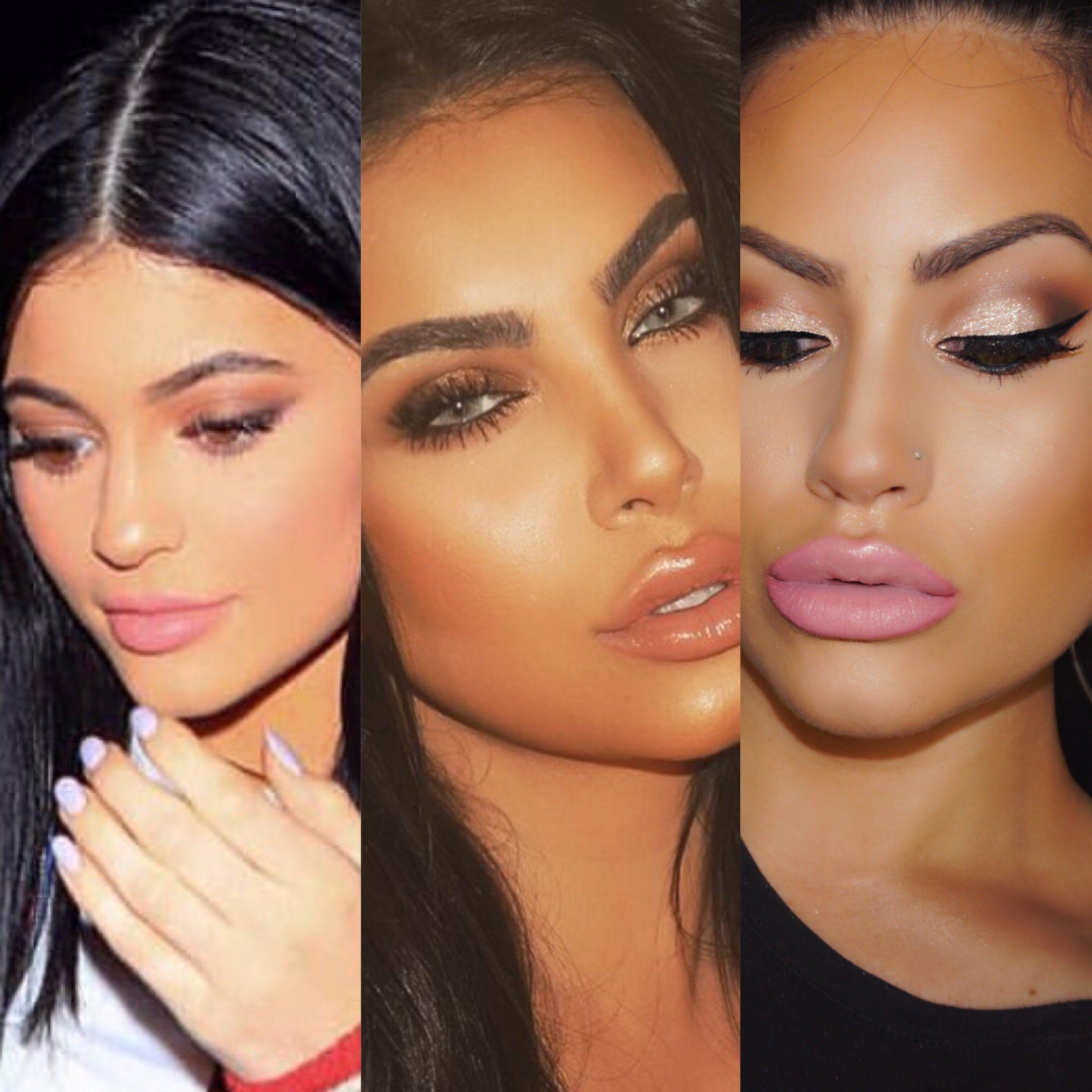 Kylie Jenner And Hrush Favorite Makeup Plus Makeup Tutorial Youtube Makeup Tutorial Makeup Tutorials Youtube Makeup