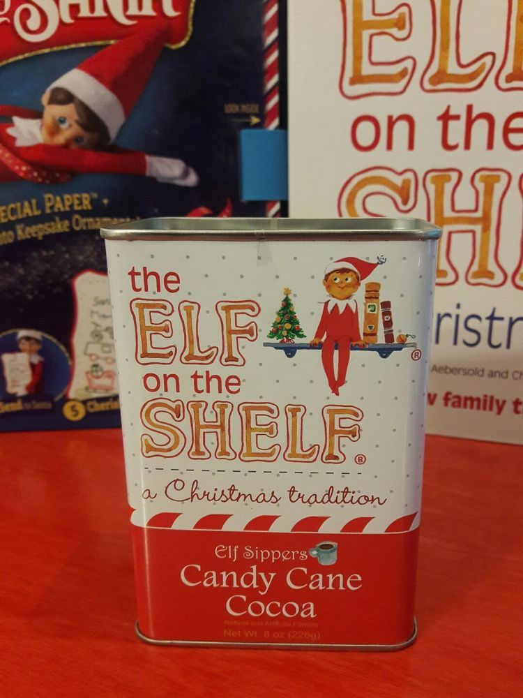 Elf On The Shelf Ideas 2020 The Elf on the Shelf Candy Cane Cocoa Sippers McStevens Exp 2020