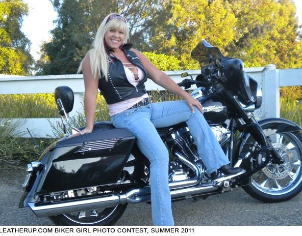 Pin By Lawrence Patterson On Babes  Bikes  Biker Girl -7214