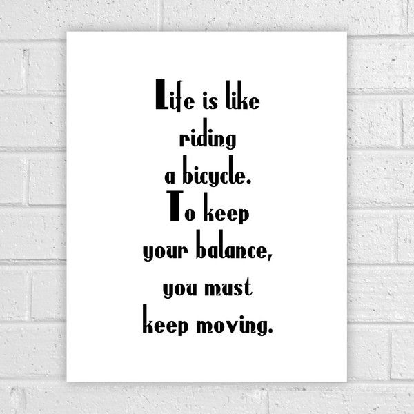 Original prints – Keep Moving, Minimalist Quote Prints, q069 – a unique product by albatrosscreations on DaWanda