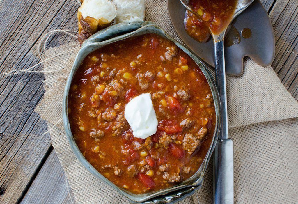Slow Cooker Crock Pot Camp Stew #crockpotgumbo Slow Cooker Crock Pot Camp Stew Recipe #crockpotgumbo