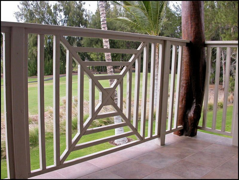 deck railing ideas on a budget out of bounds Front