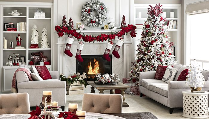 Holiday Ideas For Living Rooms Christmas Decorations Apartment Christmas Decorations Living Room Christmas Decorations For The Home Christmas decoration in living room