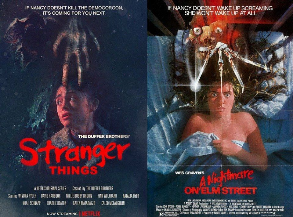 Novo Poster De Stranger Things E A Hora Do Pesadelo Selo Steve