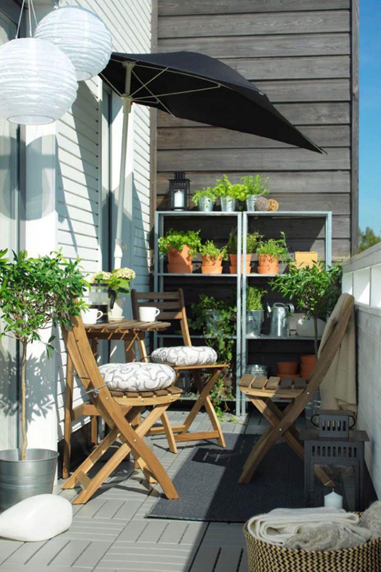 Vom Mini Balkon zum Platzwunder in 8 Schritten   Kleines balkon ...