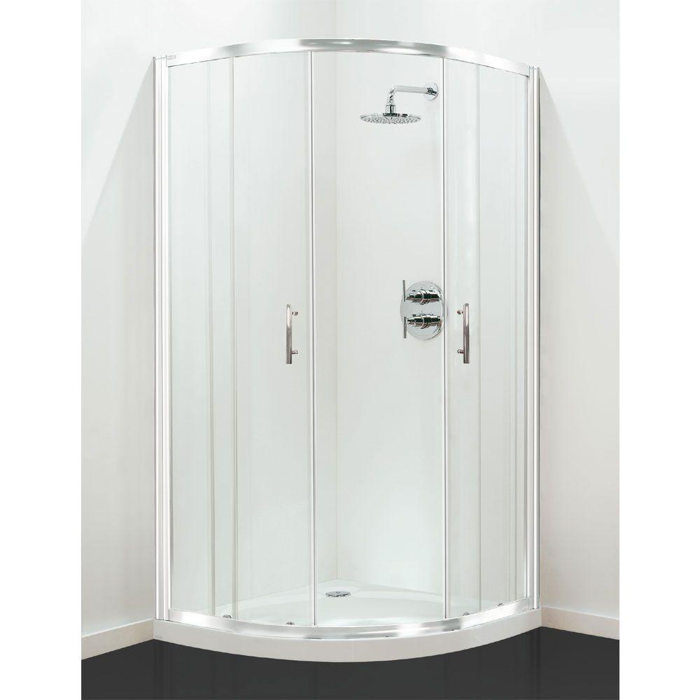 Coram Optima Quadrant Shower Enclosure White Various Size Options Quadrant Shower Enclosures Shower Enclosure Quadrant Shower