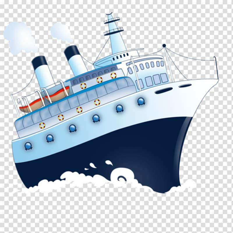 Ship Boat Watercraft Ship Transparent Background Png Clipart Boat Cartoon Ship Drawing Cargo Ship Illustration