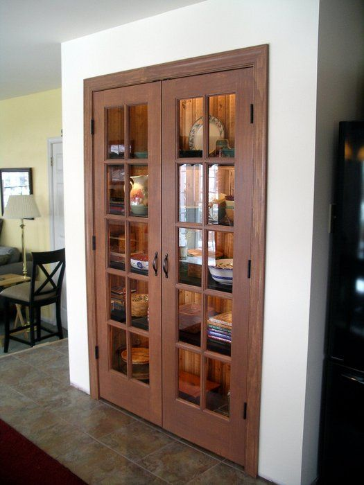 French Pantry Doors French Door Pantry Kitchen In 2019