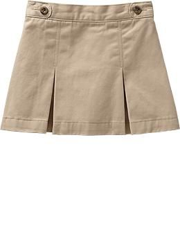 016fd1eec Old Navy - Girls Khaki Uniform Skorts | Uniforms Styles for Littles ...