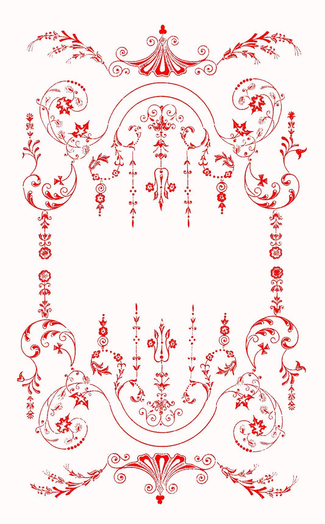 Victorian Border   Mustrid   Pinterest   Ornamentos, Filigrana and ...