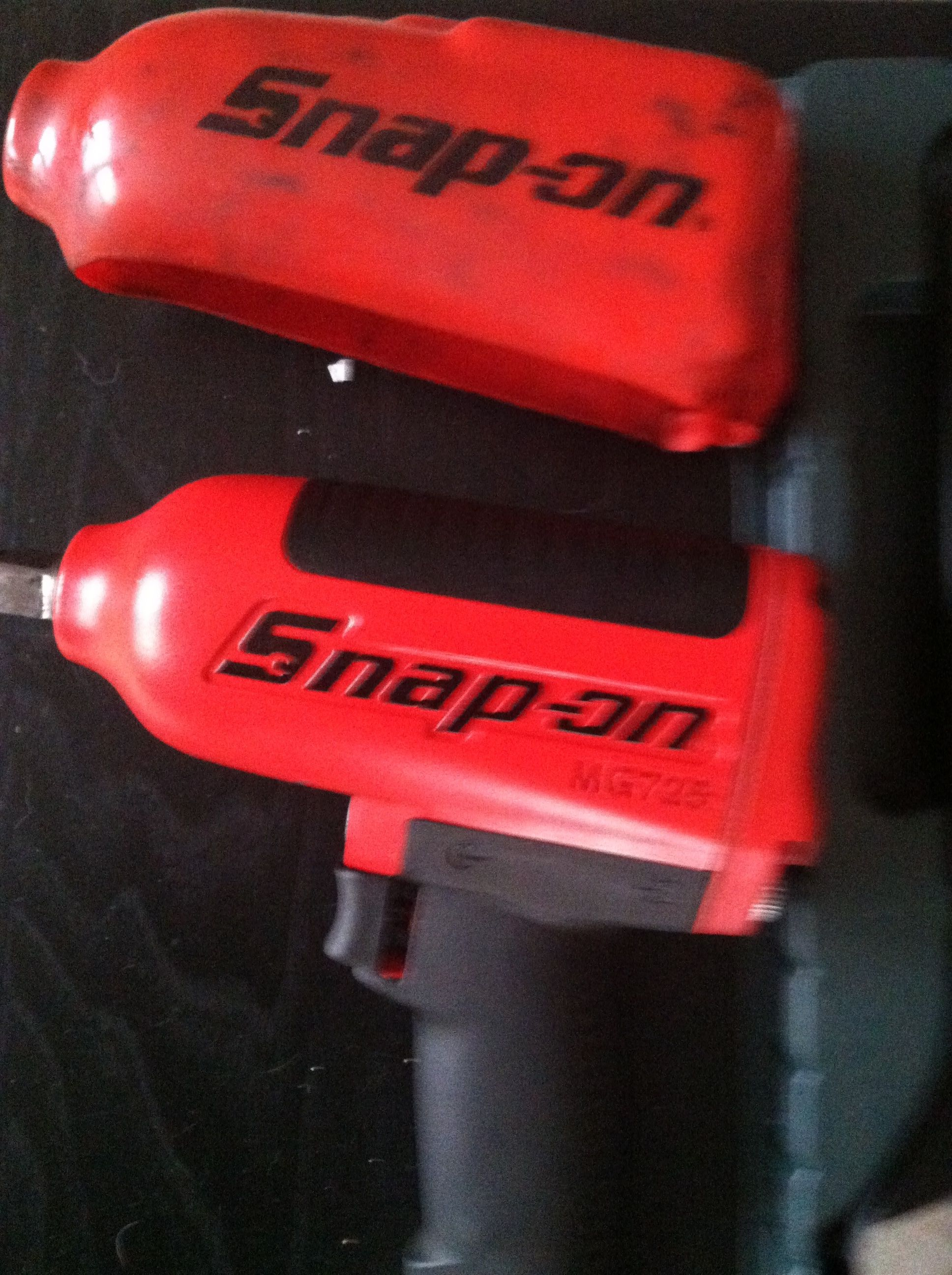 Snap On 1 2 Drive Pneumatic Impact Wrench In Dieselpower S Garage