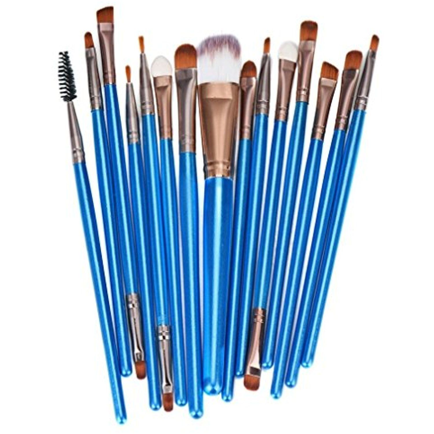 Tenworld Pro 12 pcs Makeup Brush Set Tools Foundation