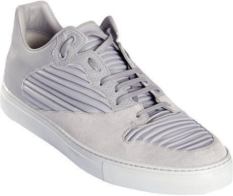 24290c958a11 Balenciaga Low Top Sneakers in Gray for Men (grey) - Lyst