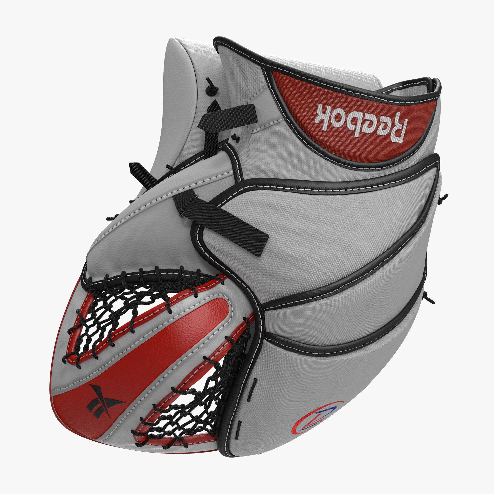 Hockey Goalie Catcher Glove 3d model Reebok | Sport