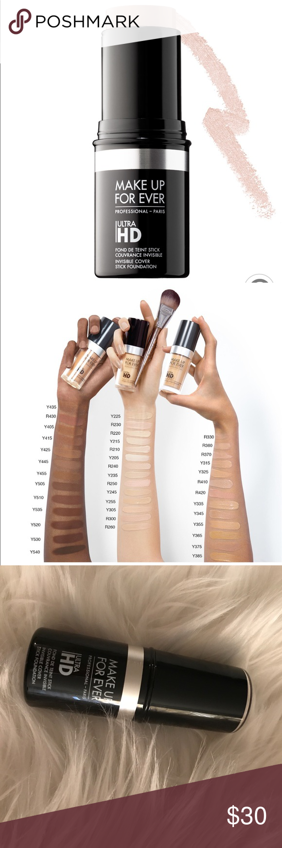 New Makeup Forever Ultra HD Foundation Stick Y205 Makeup