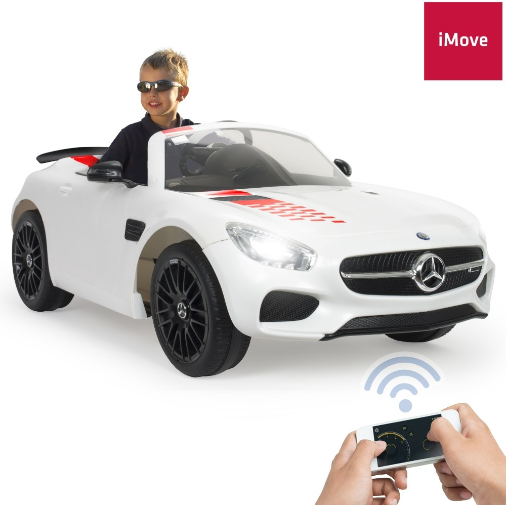 This Fully Equipped Injusa Licensed Mercedes 12V AMG GT-S