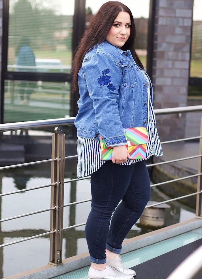 Comment porter veste en jean femme