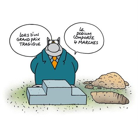 Humour noir humour pinterest - Dessin podium ...