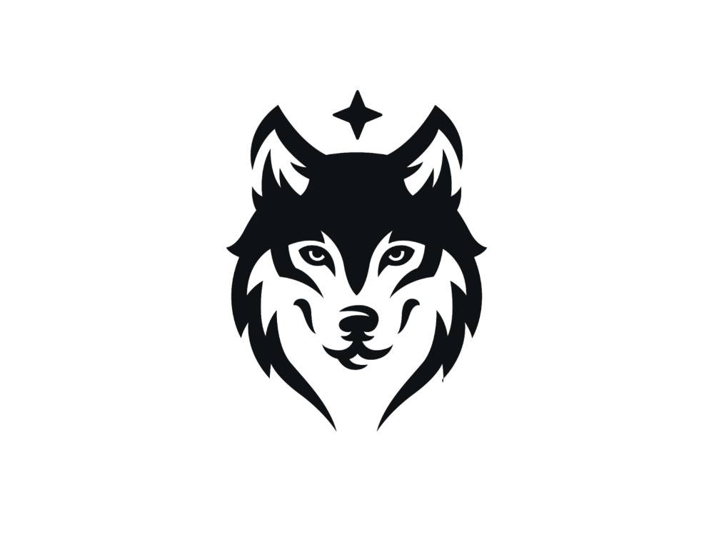Wolf Logo Design Photo Logo Design Logo Design Animal Logo