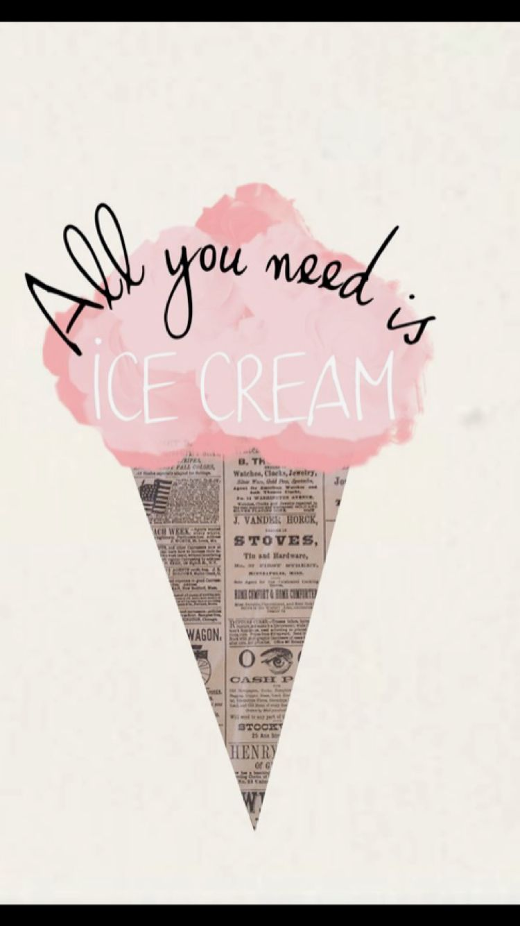 Summer quote drawing icecream summer quote