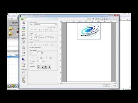Roland VersaWorks Job Settings - Layout tab | Roland Tutorials | Layout